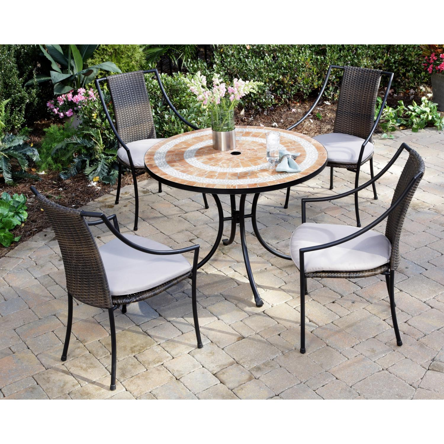 Home Styles Valencia And Laguna Outdoor Patio Dining Set