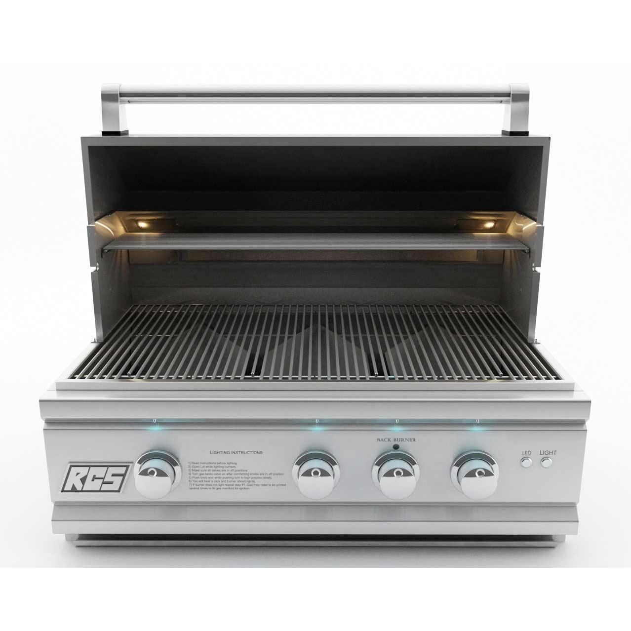 RCS Cutlass Pro 30-Inch Built-In Propane Gas Grill 2603110