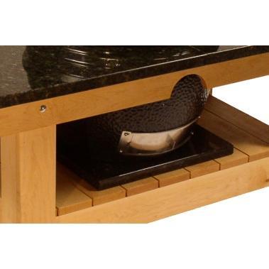 Saffire Grill Granite Riser For Kamado Table - Crimson Smoke