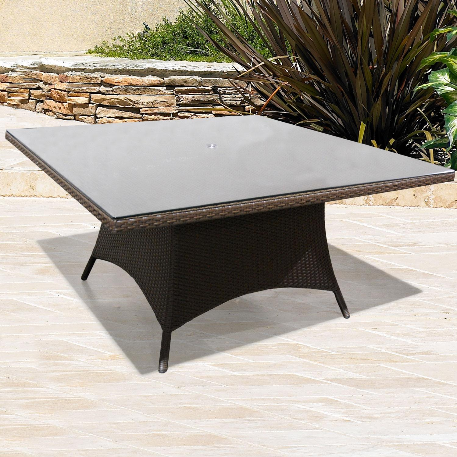 Glass Top For Melrose 60 Inch Dining Table