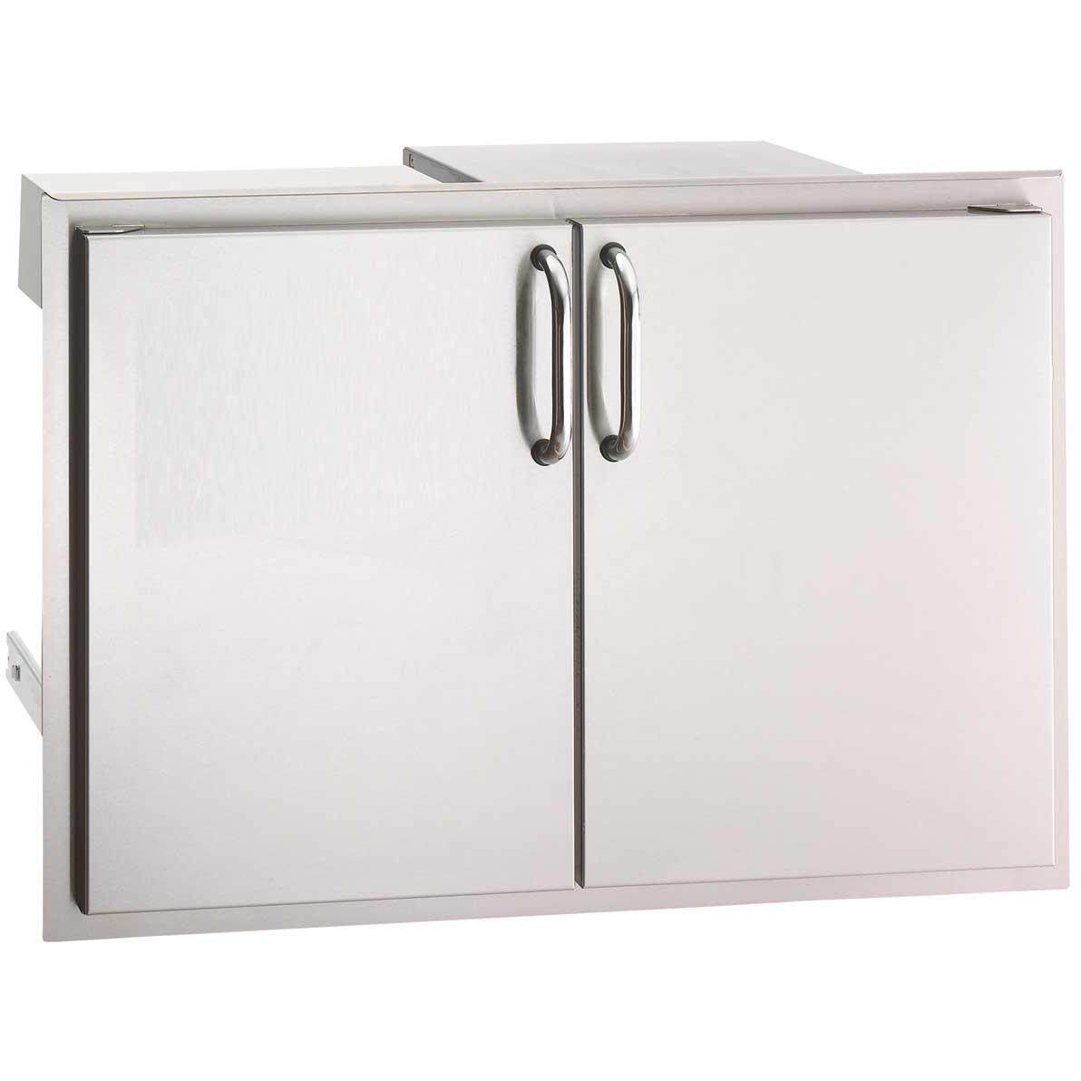 Fire Magic Aurora 30 Inch Double Access Door With Drawers And Trash Bin Storage at Sears.com