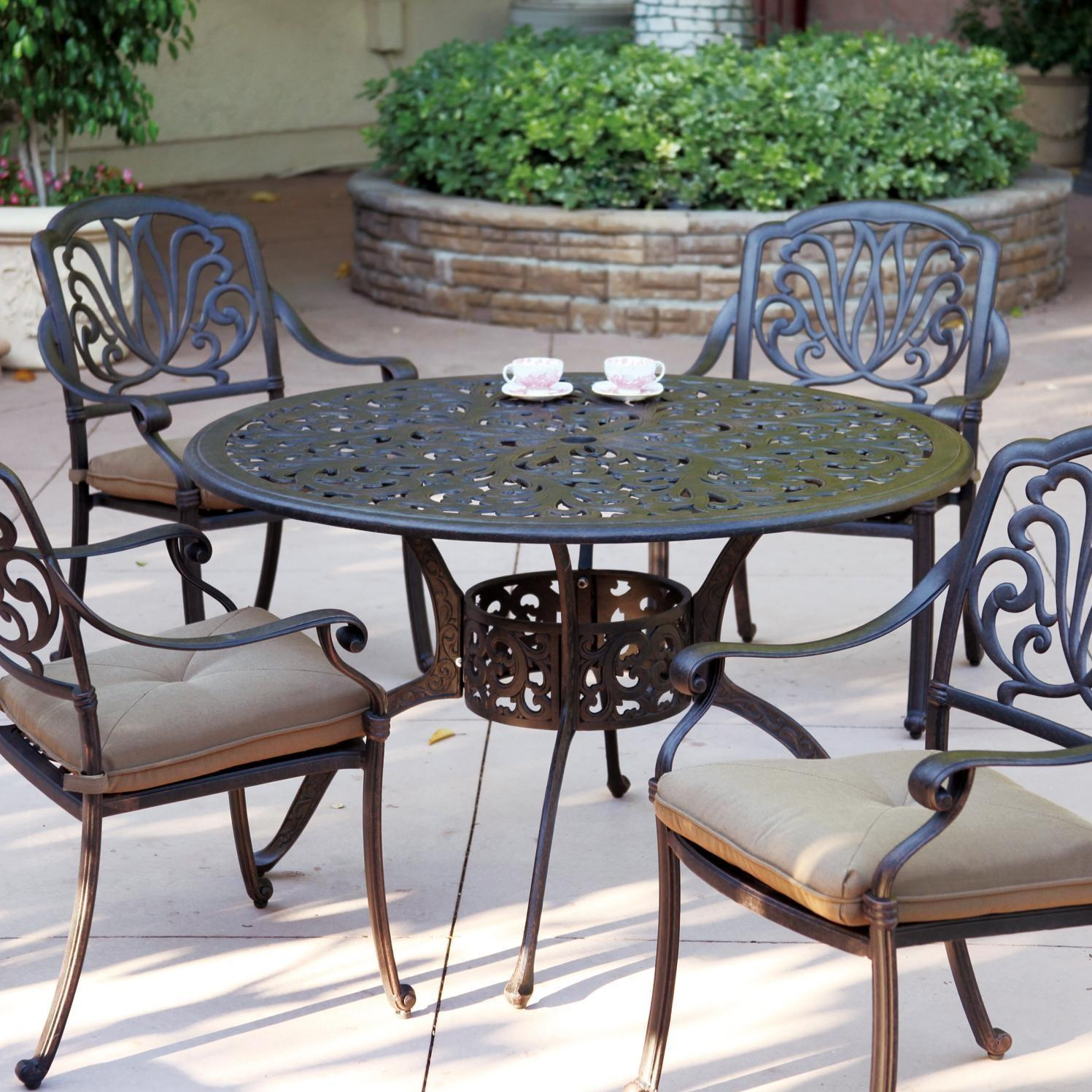Eagle e Recycled Plastic 4 Person Patio Dining Set