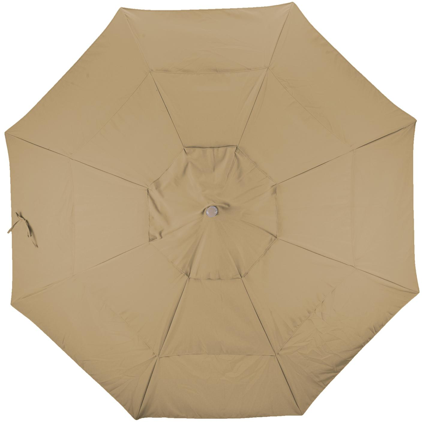 California Umbrella Sunbrella A Fabric In Heather Beige 2909622