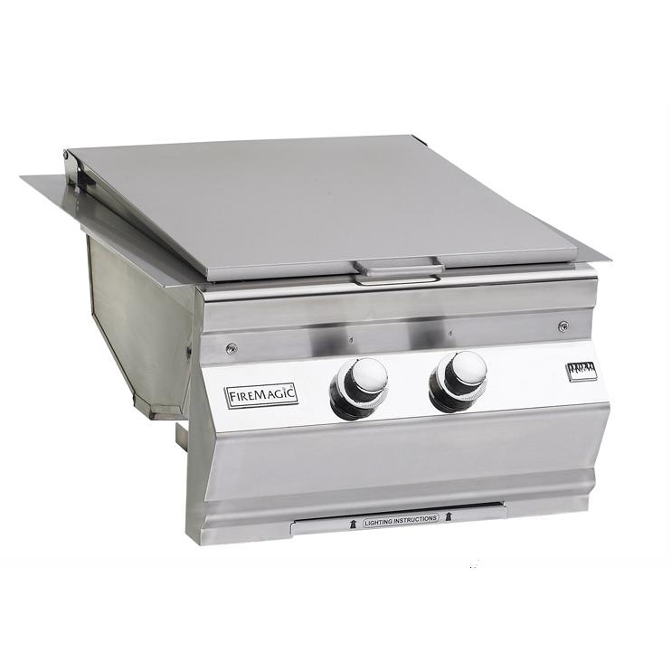 Fire Magic Natural Gas Built-In Double Searing Station / Side Burner 3288-1