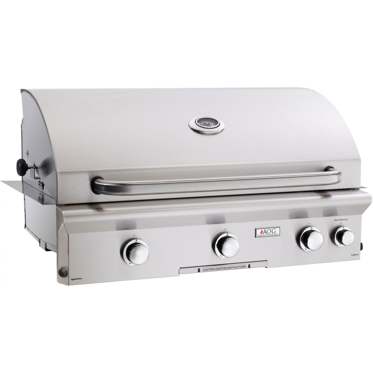 American Outdoor Grill L-Series 36-Inch Built-In Natural Gas Grill With Rotisserie 2894408
