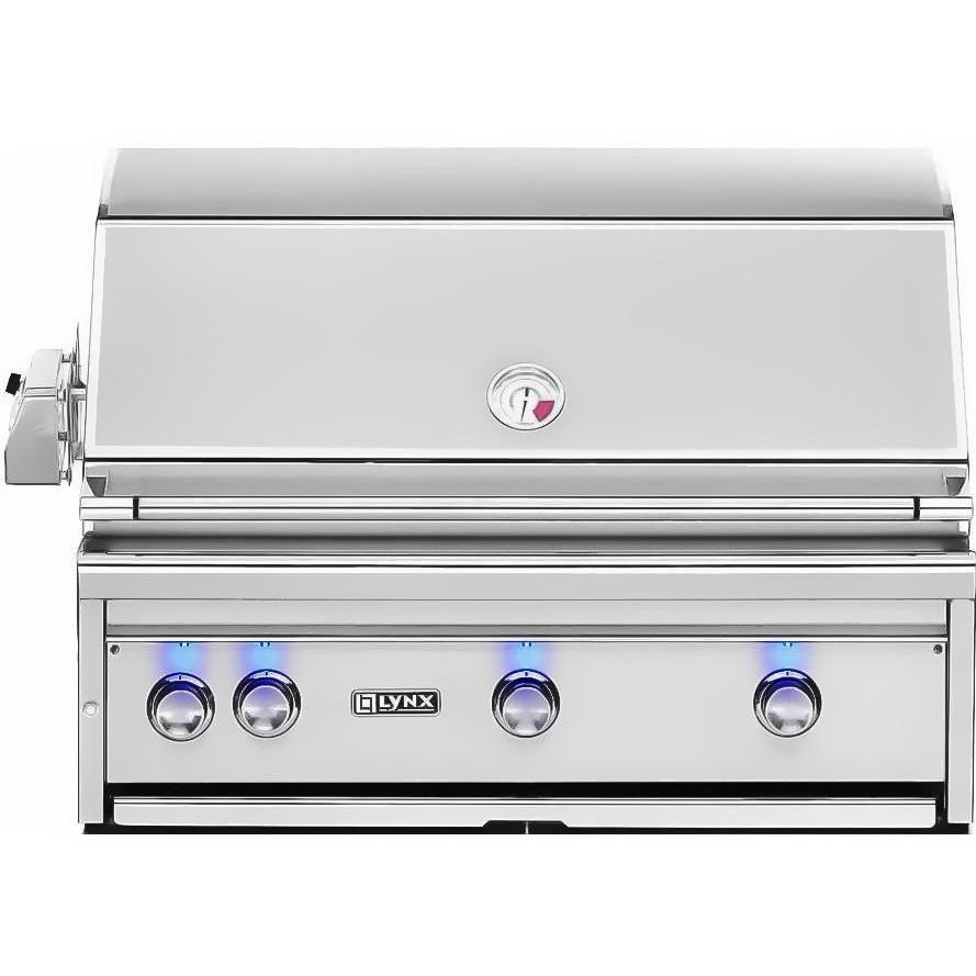 Lynx 36-Inch Built-In Propane Gas Grill With ProSear Burner And Rotisserie L36PSR-2-LP 2856002