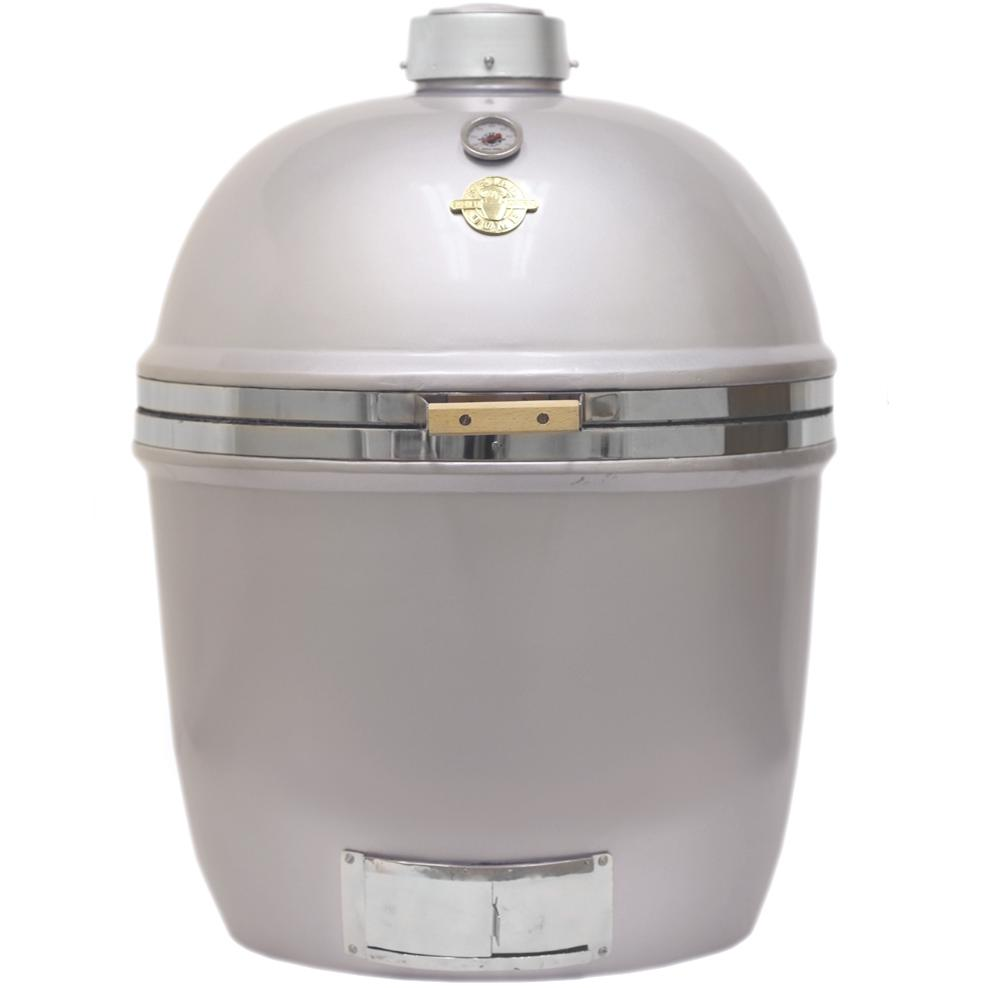 Grill Dome Infinity Series XL Kamado Grill - Silver, Discount ID GDXL-SV