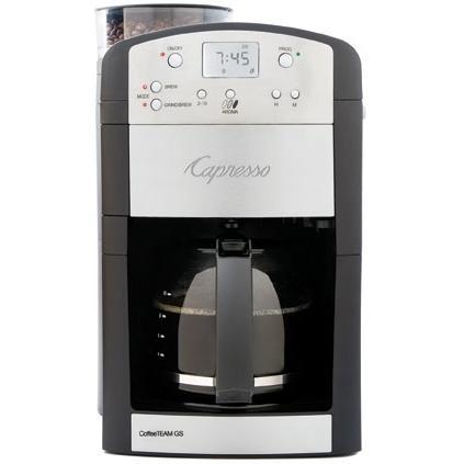 Capresso CoffeeTEAM GS 10-Cup Automatic Coffee Maker - 464.05