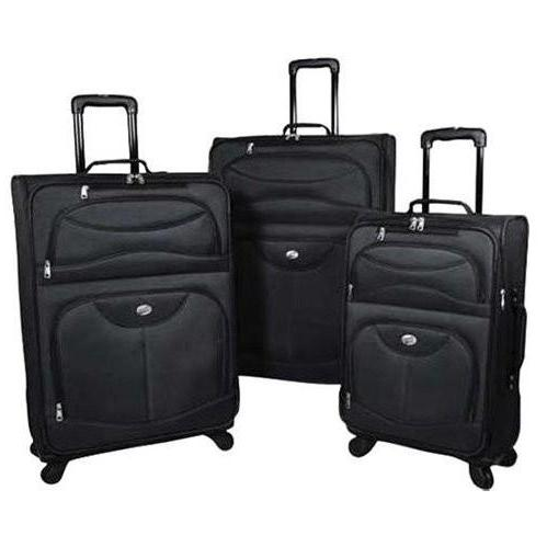 American Tourister 4-Piece Luggage Set - Black