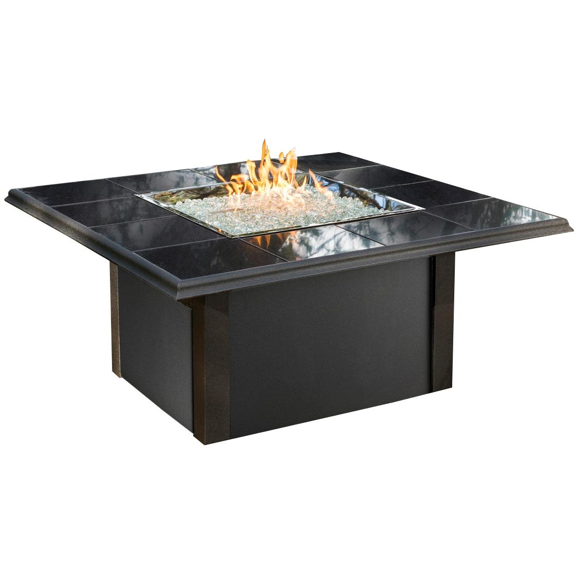Pit Table Black Outdoor Greatroom Company Napa Valley Propane Fire Pit