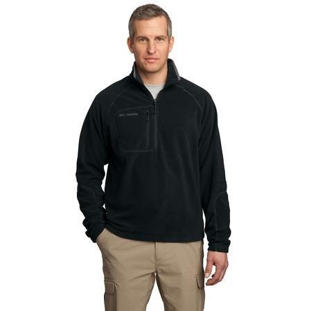 Columbia Western Trek 1/2-Zip Pullover Jacket XL - Black