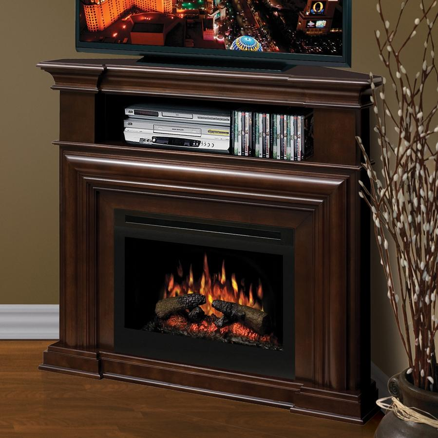 Dimplex Montgomery 47-inch Corner Electric Fireplace Media Console - Espresso - Gds25-1057e at Sears.com