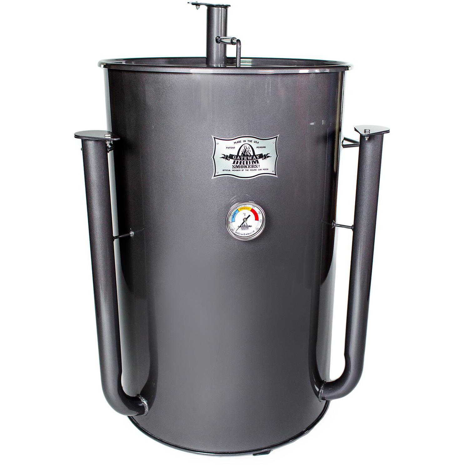Gateway Drum Smokers 55 Gallon Charcoal BBQ Smoker - Charcoal - 55122
