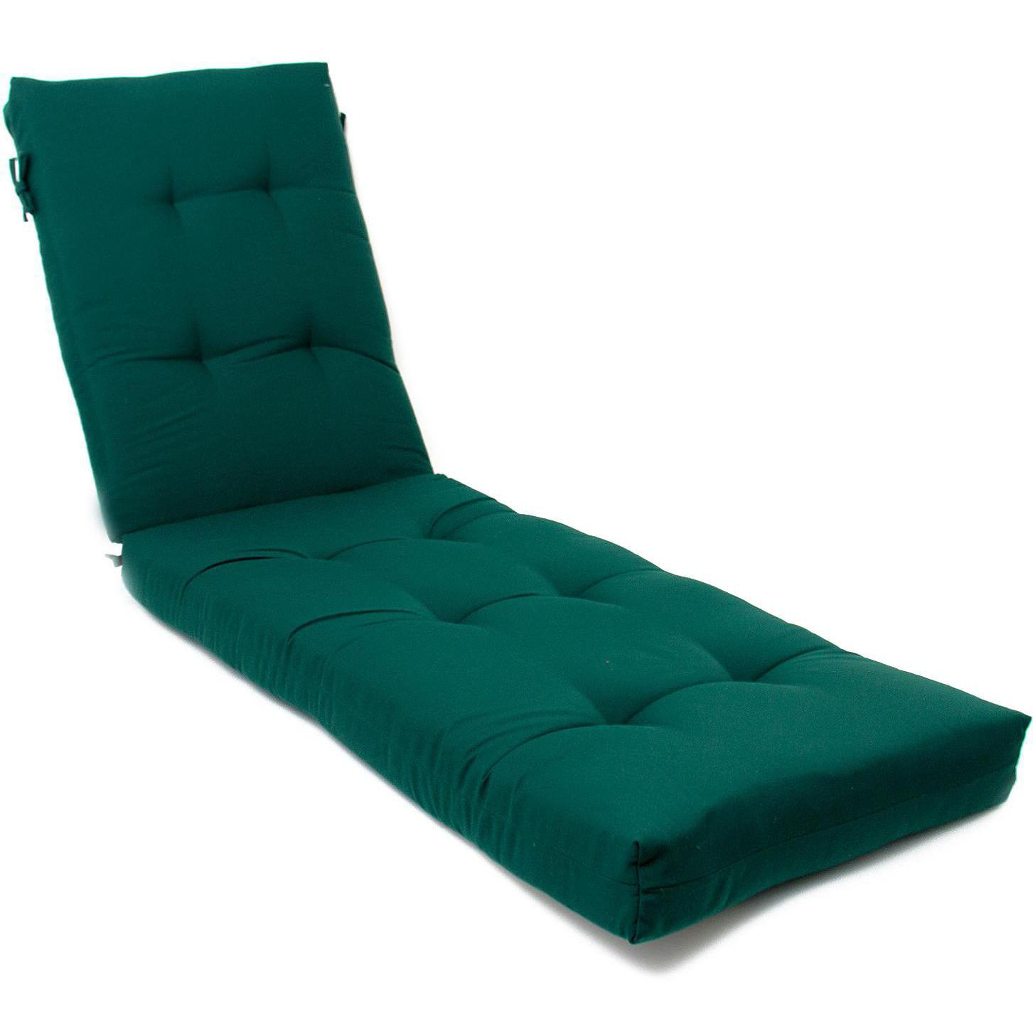 Extra Long Replacement Outdoor Chaise Lounge Cushion Canv