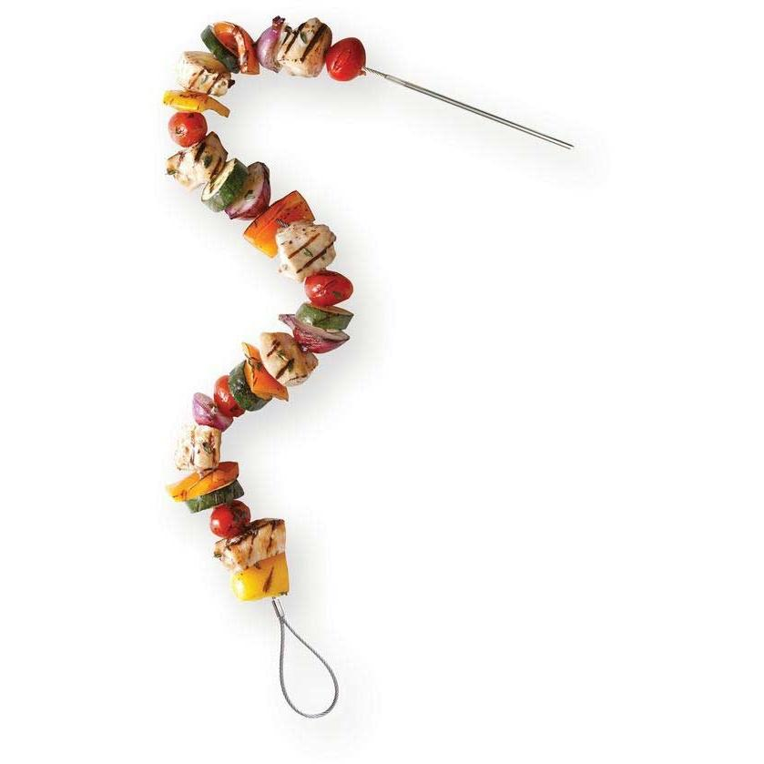 Fire Wire Flexible Grilling Skewers - Set Of 2