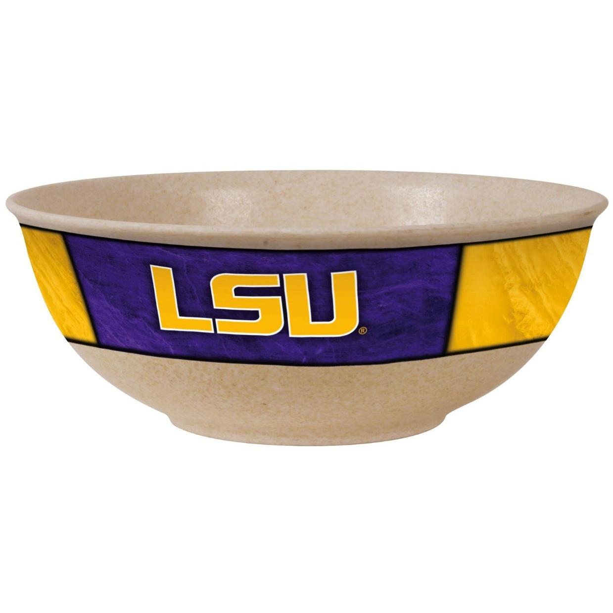 Evergreen EcoBamboo Large Serving Bowl - LSU