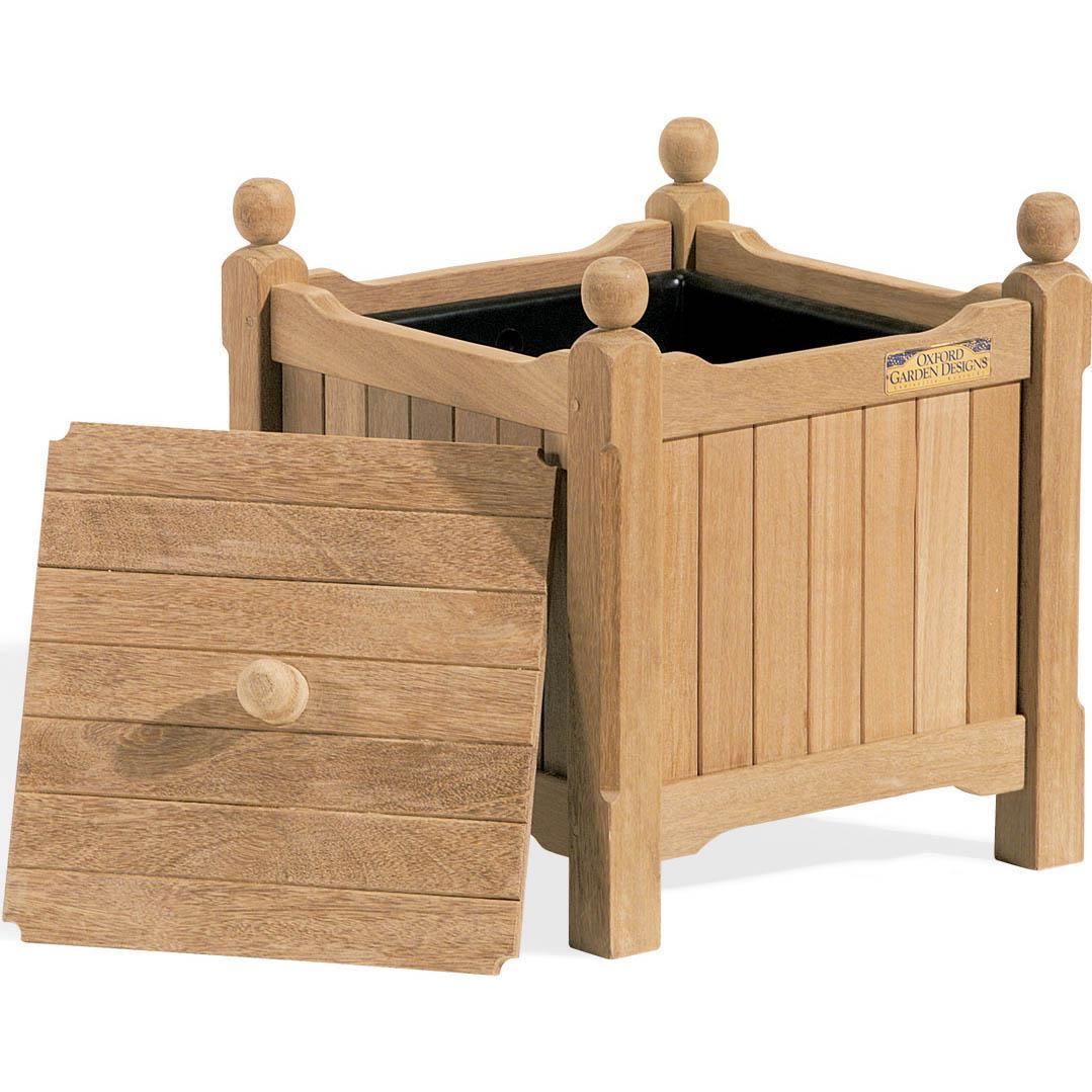 Oxford Garden Wood Divot Box