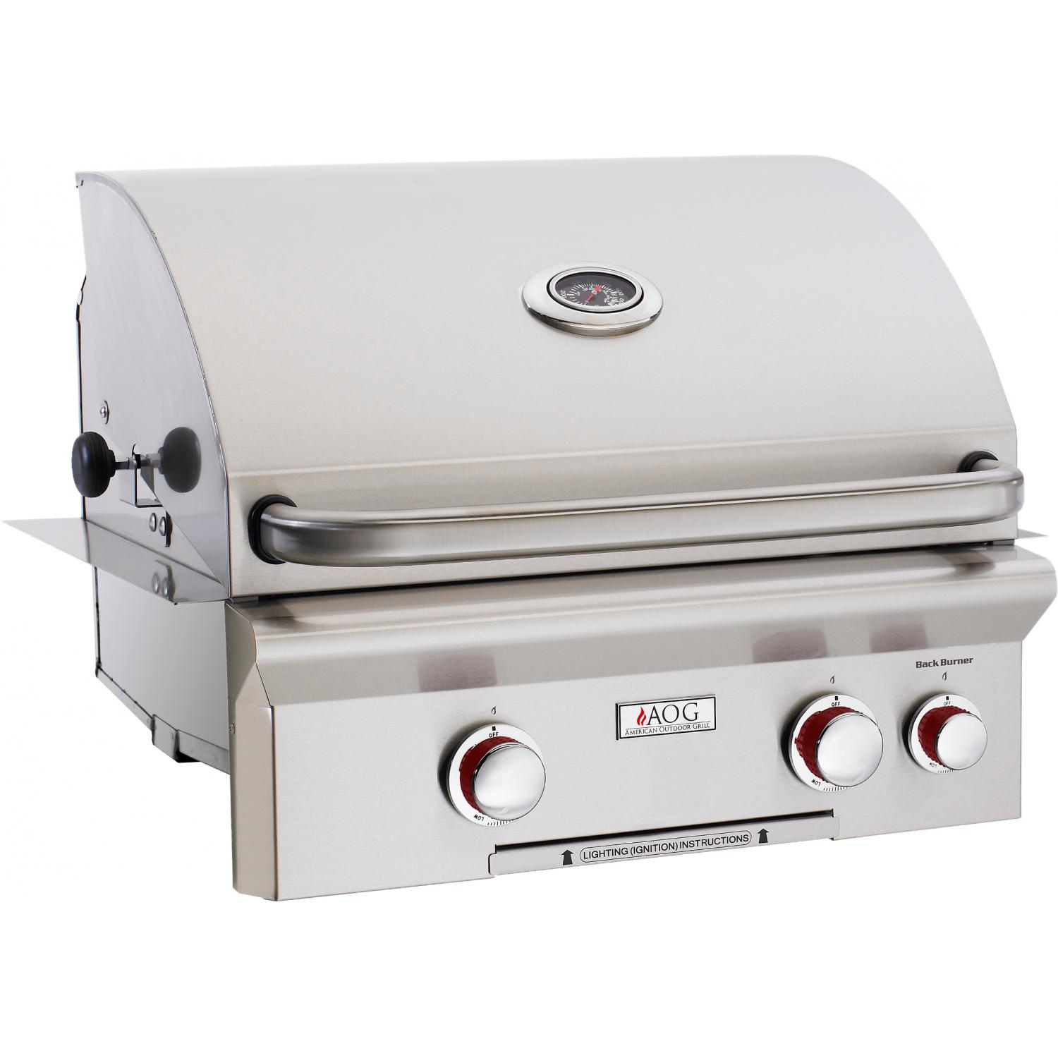 American Outdoor Grill T-Series 24-Inch Built-In Natural Gas Grill With Rotisserie 2894422