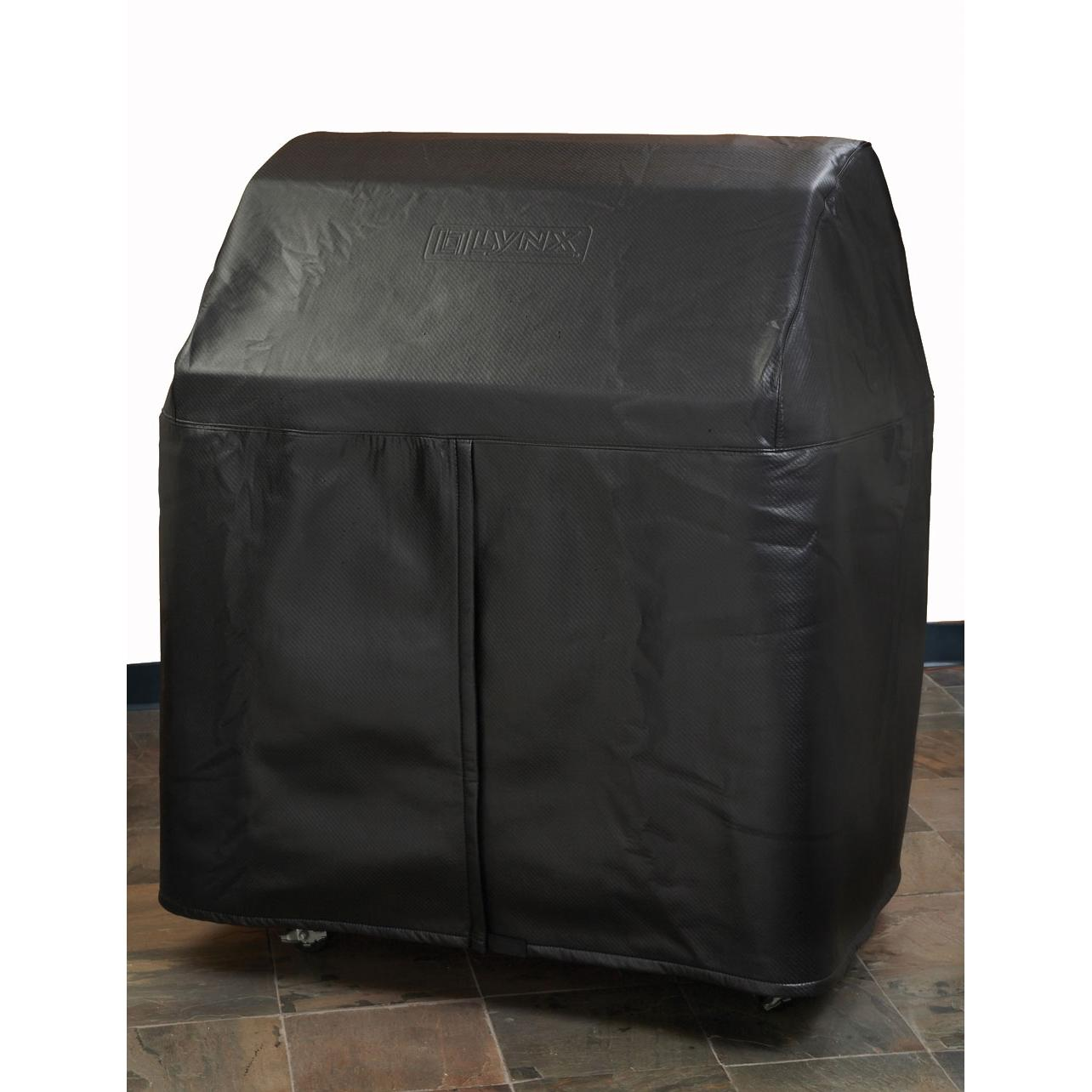 Lynx Custom Grill Cover For 30 Inch Gas Grill On Cart With Side Burners