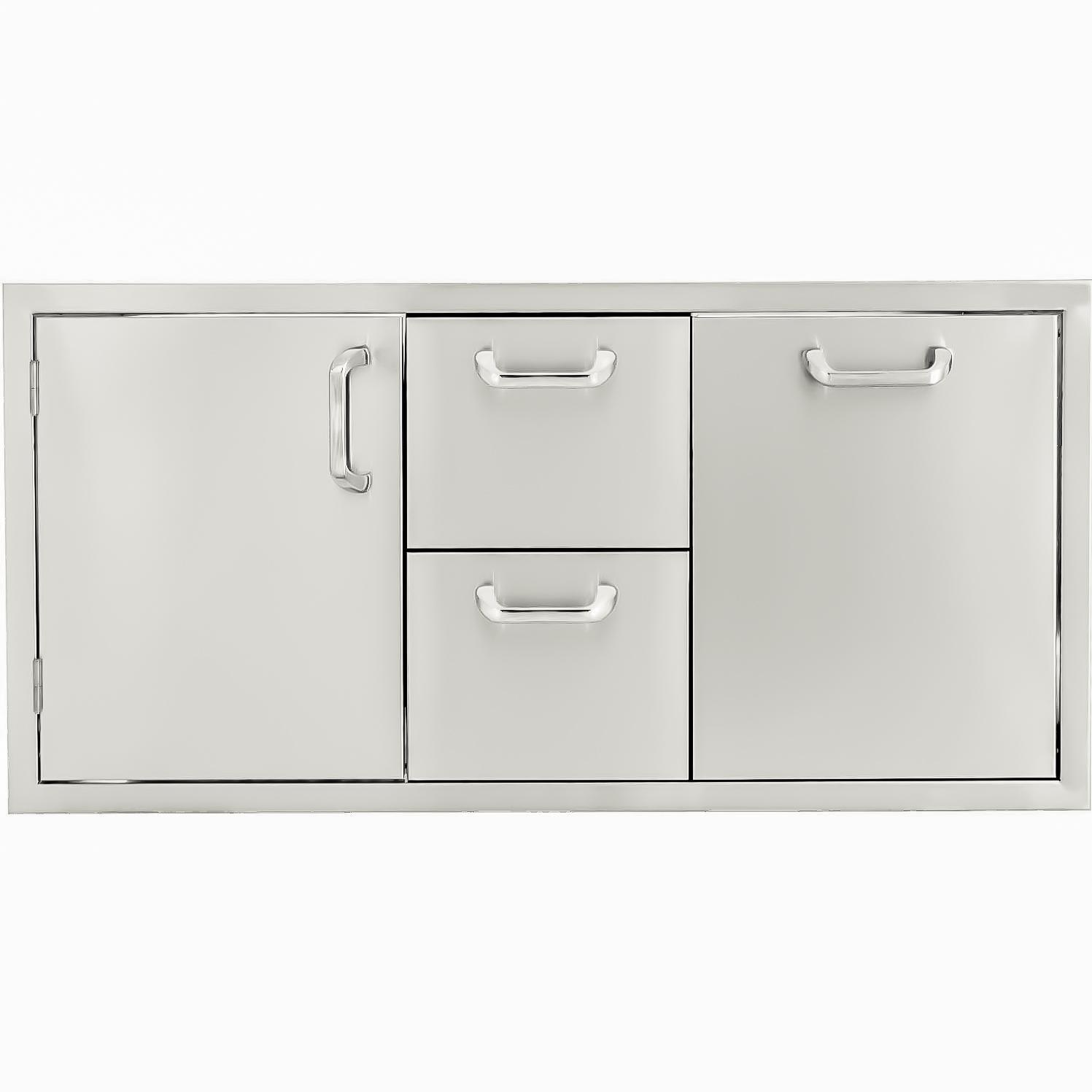 BBQGuys.com Kingston Series 42-Inch Stainless Steel Door,...