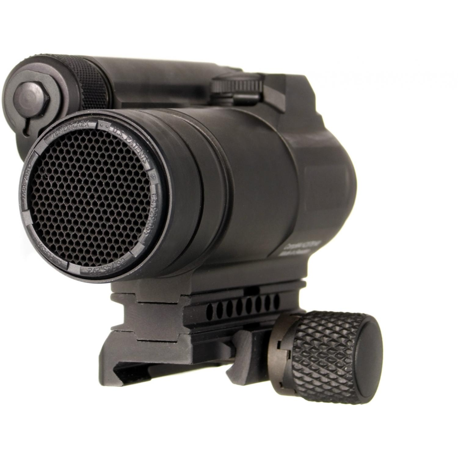 Aimpoint Compm4 Red Dot 2 Moa Sight With Mount - Black - 11972