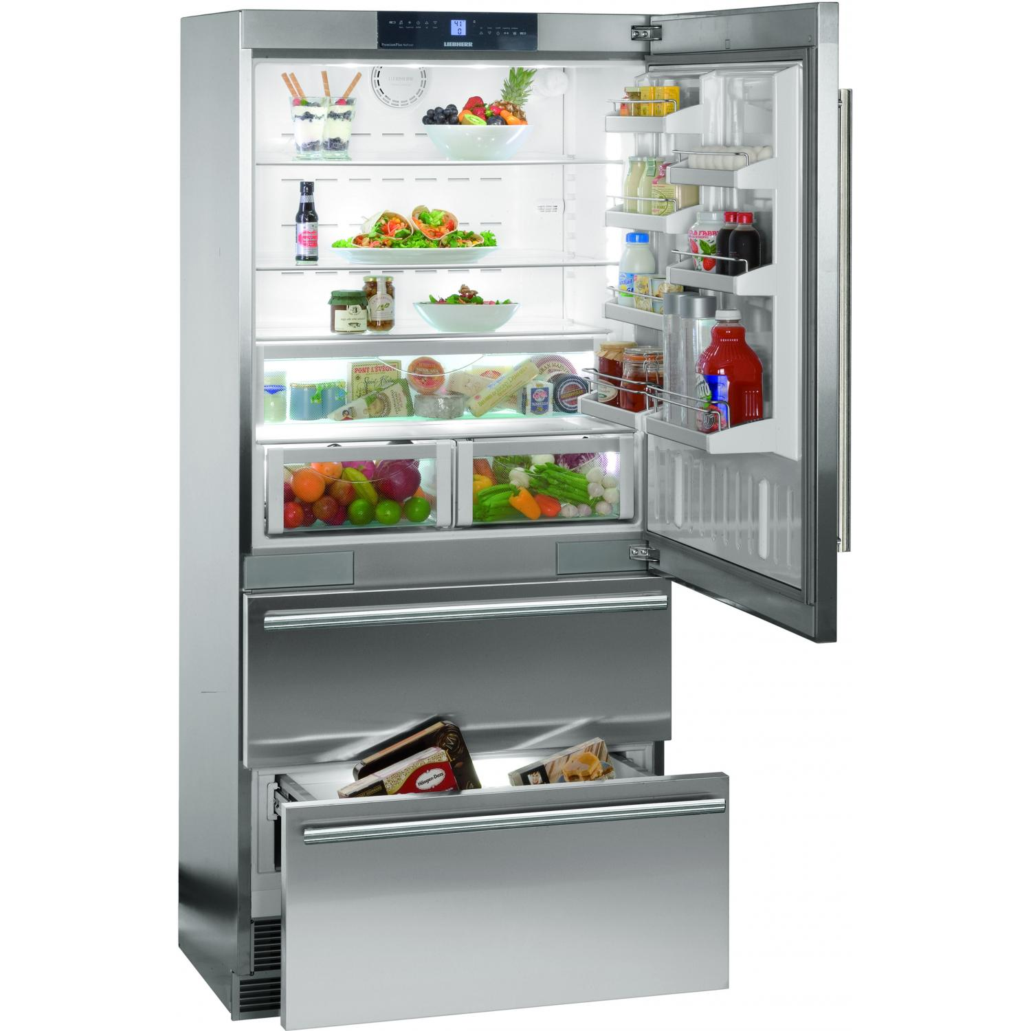 Canada bottom freezer refrigerator stainless steel