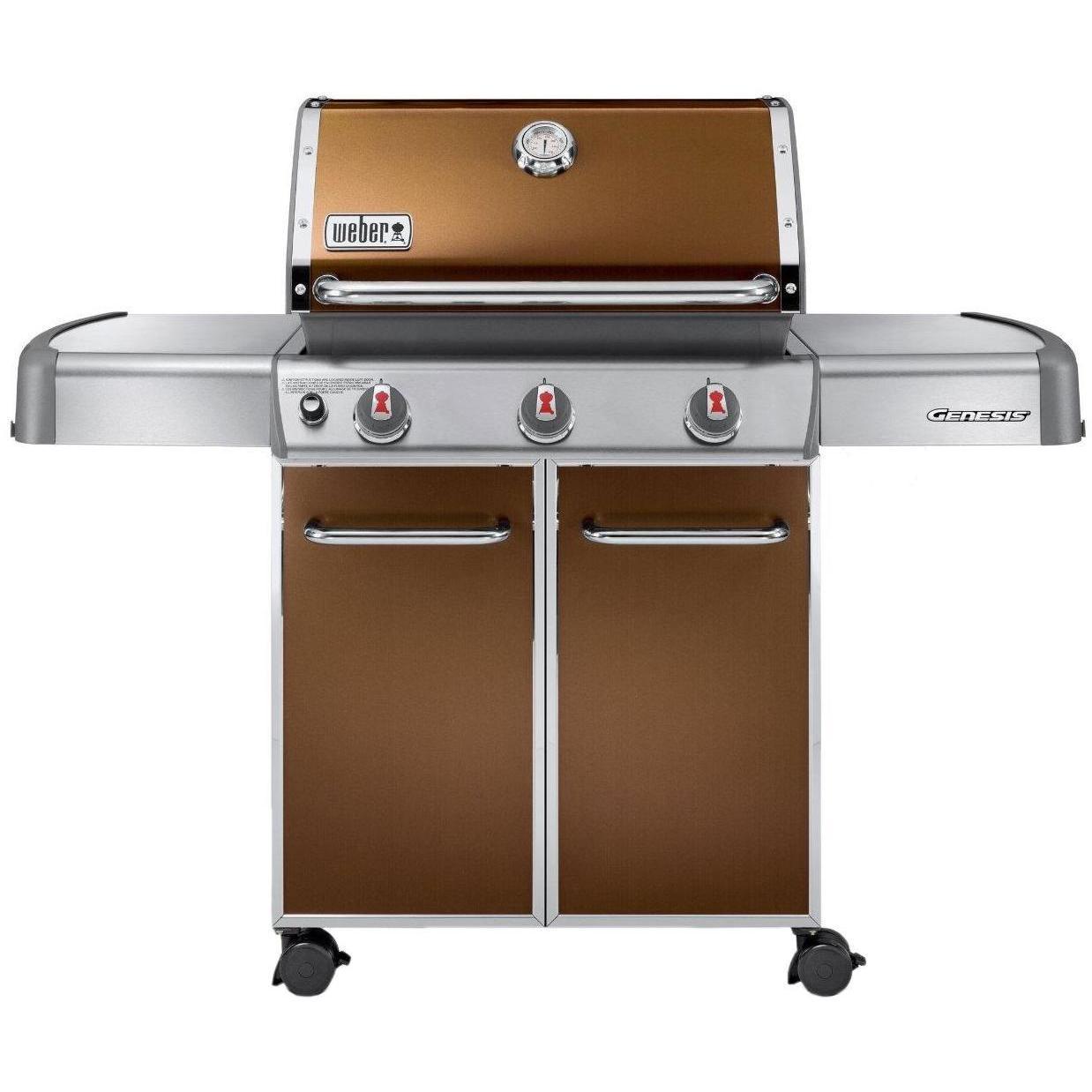 Weber Genesis E-310 Natural Gas Grill On Cart - Black 2786270