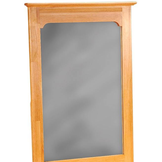 Atlantic Furniture 69005 Portrait Mirror Natural Maple