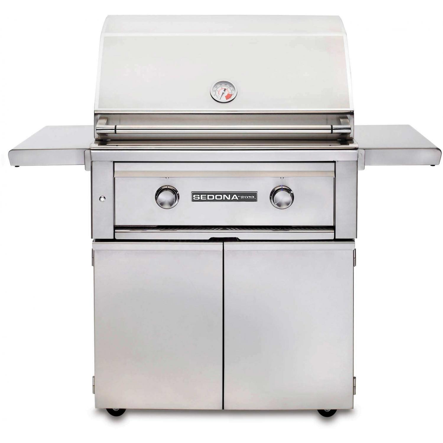 Lynx Sedona By Lynx 30-inch Propane Gas Grill On Cart With Prosear Burner L500ps-lp at Sears.com