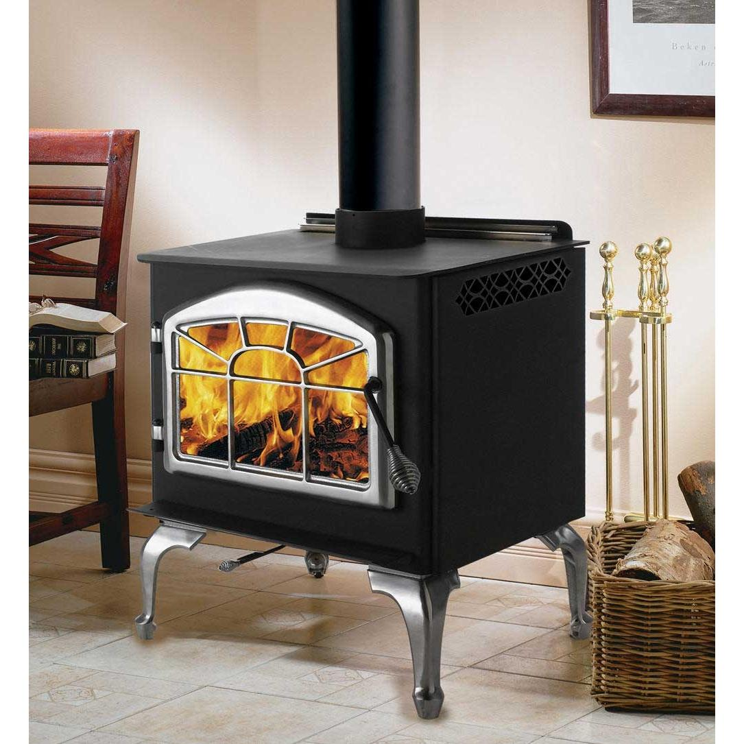 Napoleon 1400PL Deluxe Medium Wood Burning Stove - Black