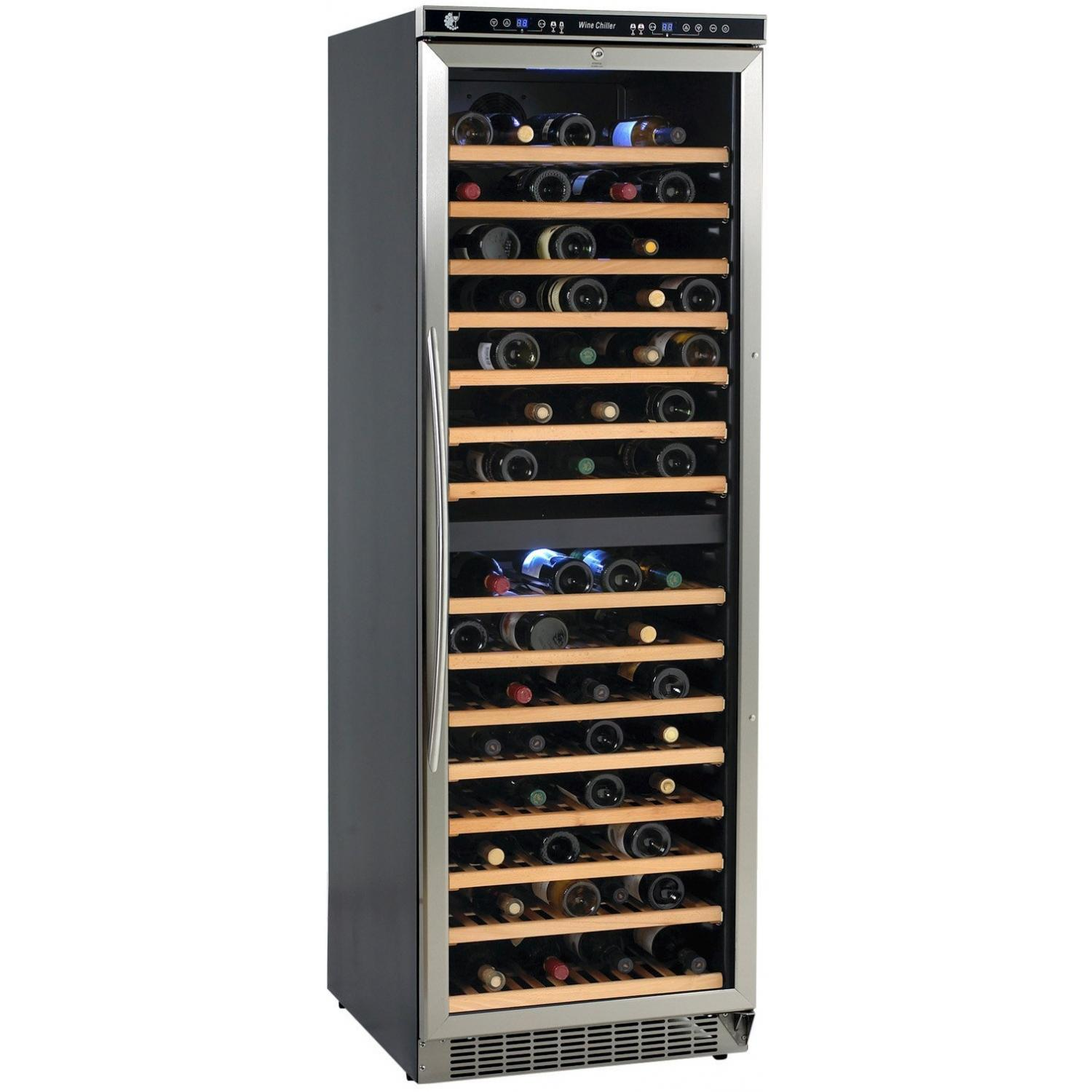 Picture of Avanti 149 Bottle Built-In Dual Zone Wine Chiller - Stainless Steel - WCR683DZD-2