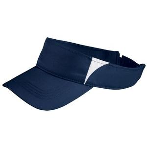 Sport-tek Dry Zone Colorblock Visor - True Navy/White at Sears.com