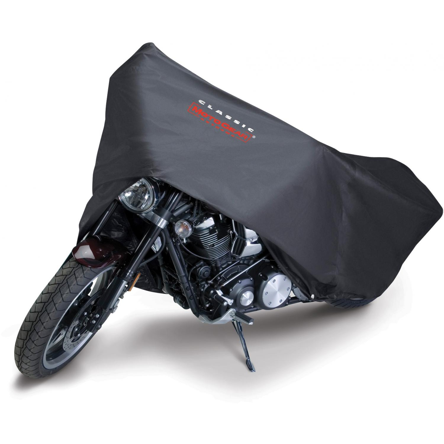 Classic Accessories MotoGear Motorcycle Dust Cover - Black - Cruiser