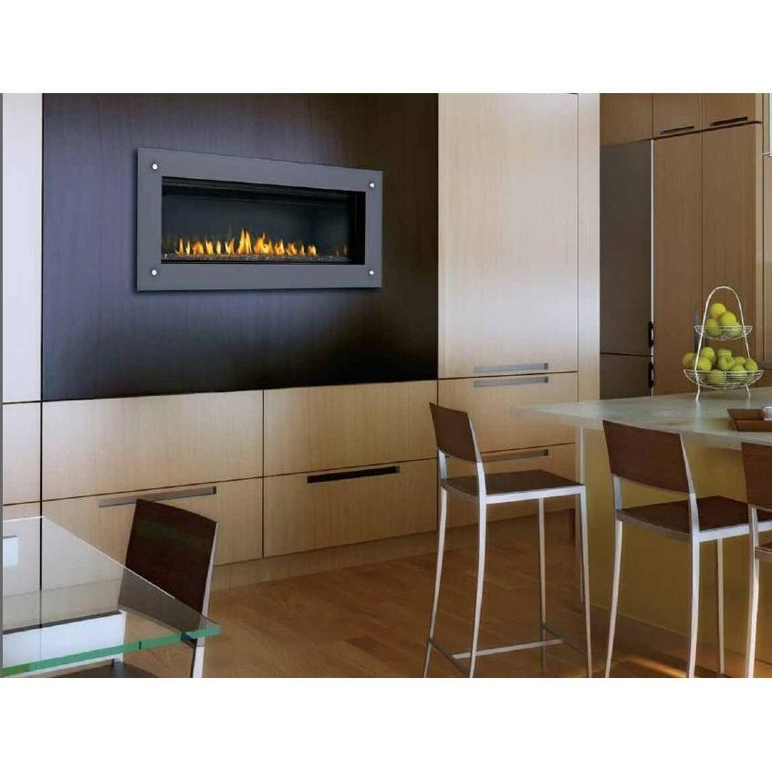 Napoleon LHD45 Linear Natural Gas Fireplace - Black