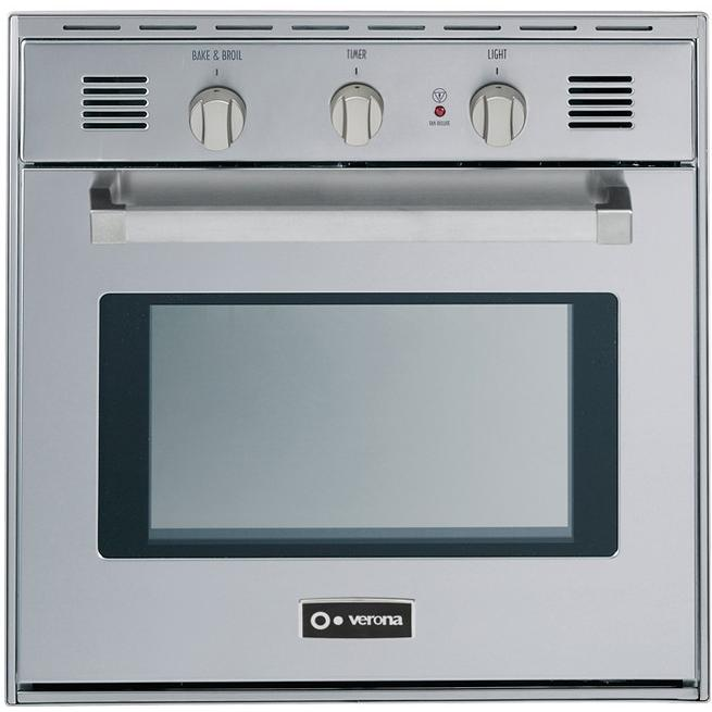 Verona VEBIG24SS 24-Inch Gas Wall Oven - Stainless Steel