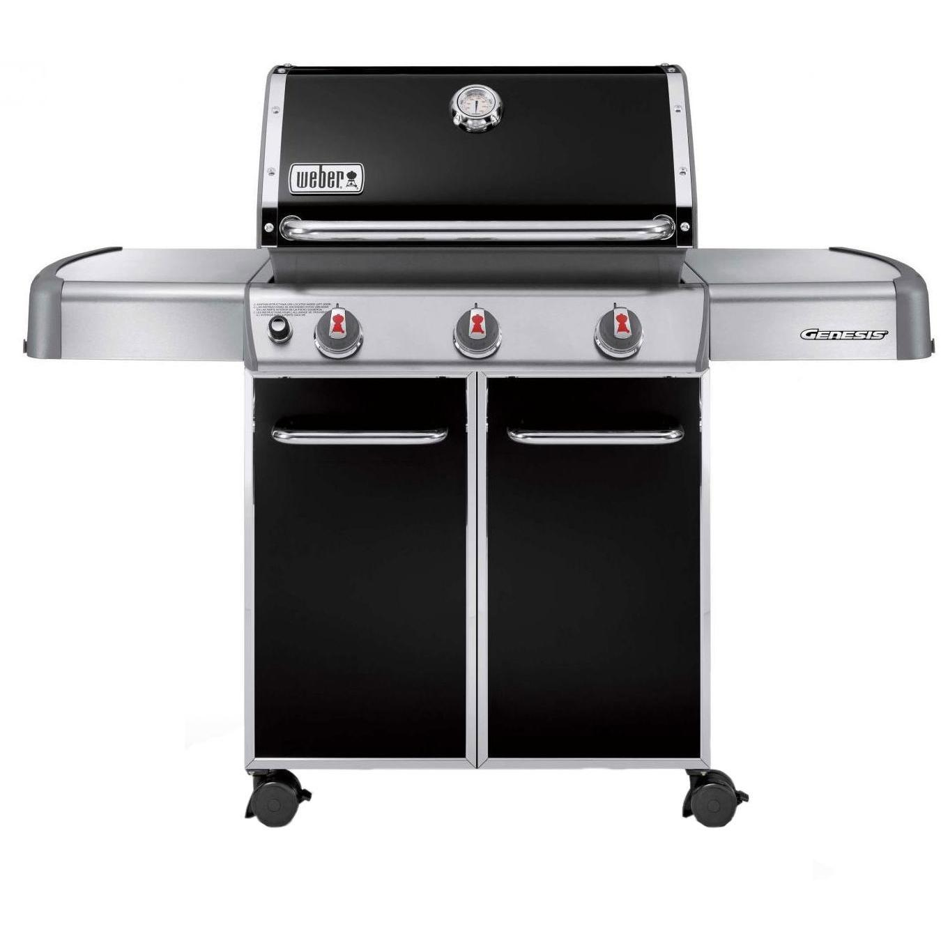 Weber Genesis E-310 Natural Gas Grill On Cart - Black 2786270