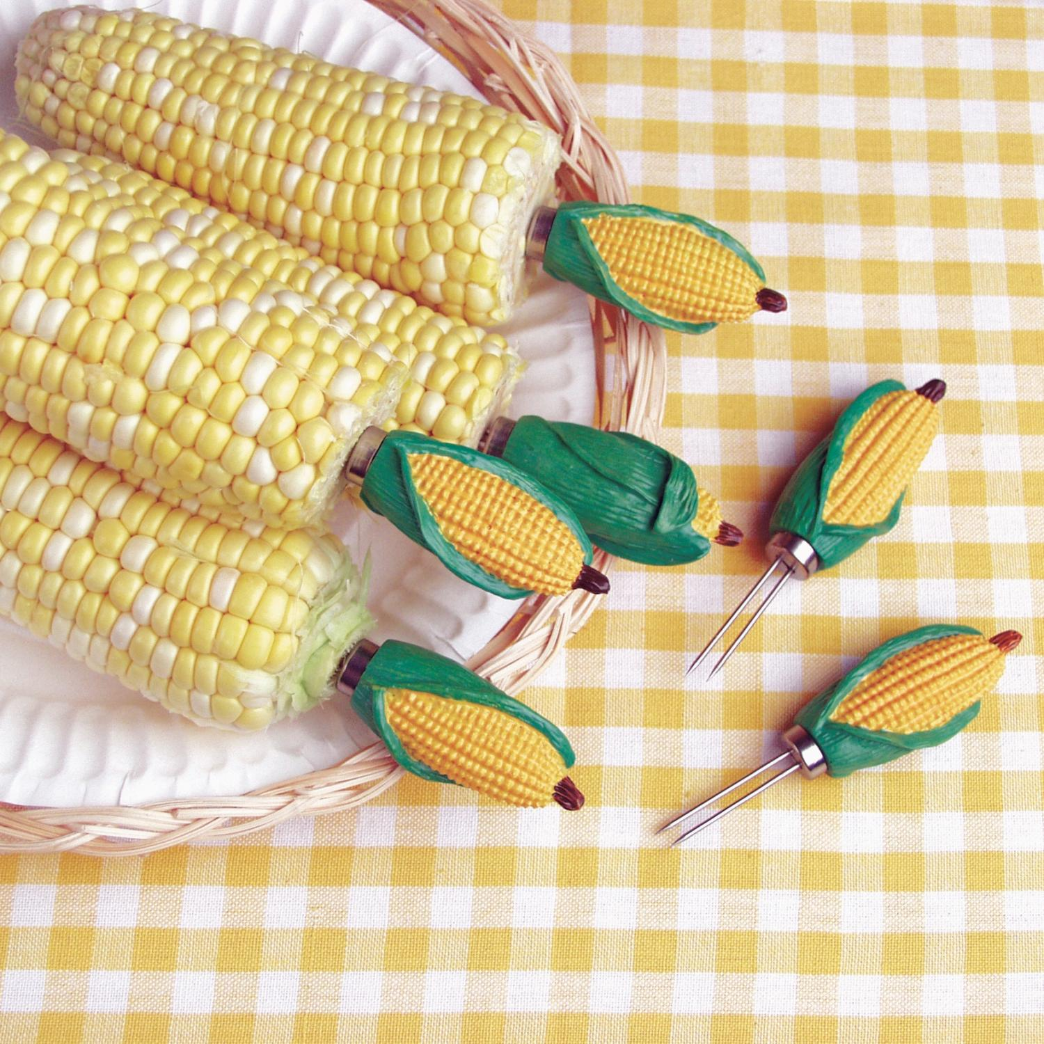 Classic Mini Corn Holders Set