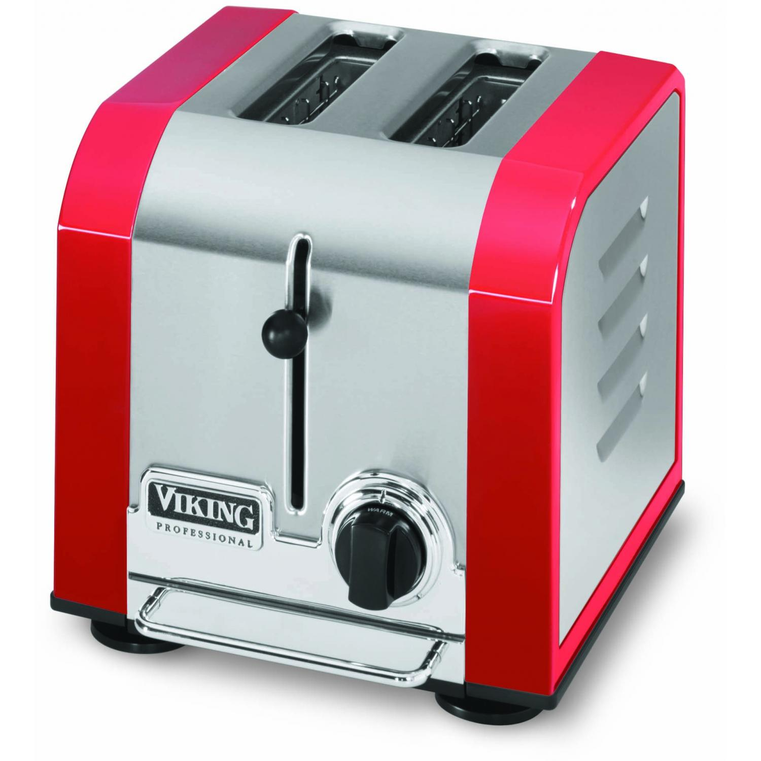Viking VT201BR Professional 2-Slot Toaster - Bright Red