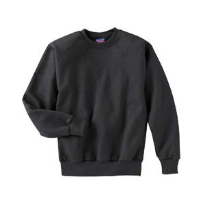 Champion Youth 50/50 Crewneck Sweatshirt Large - Black