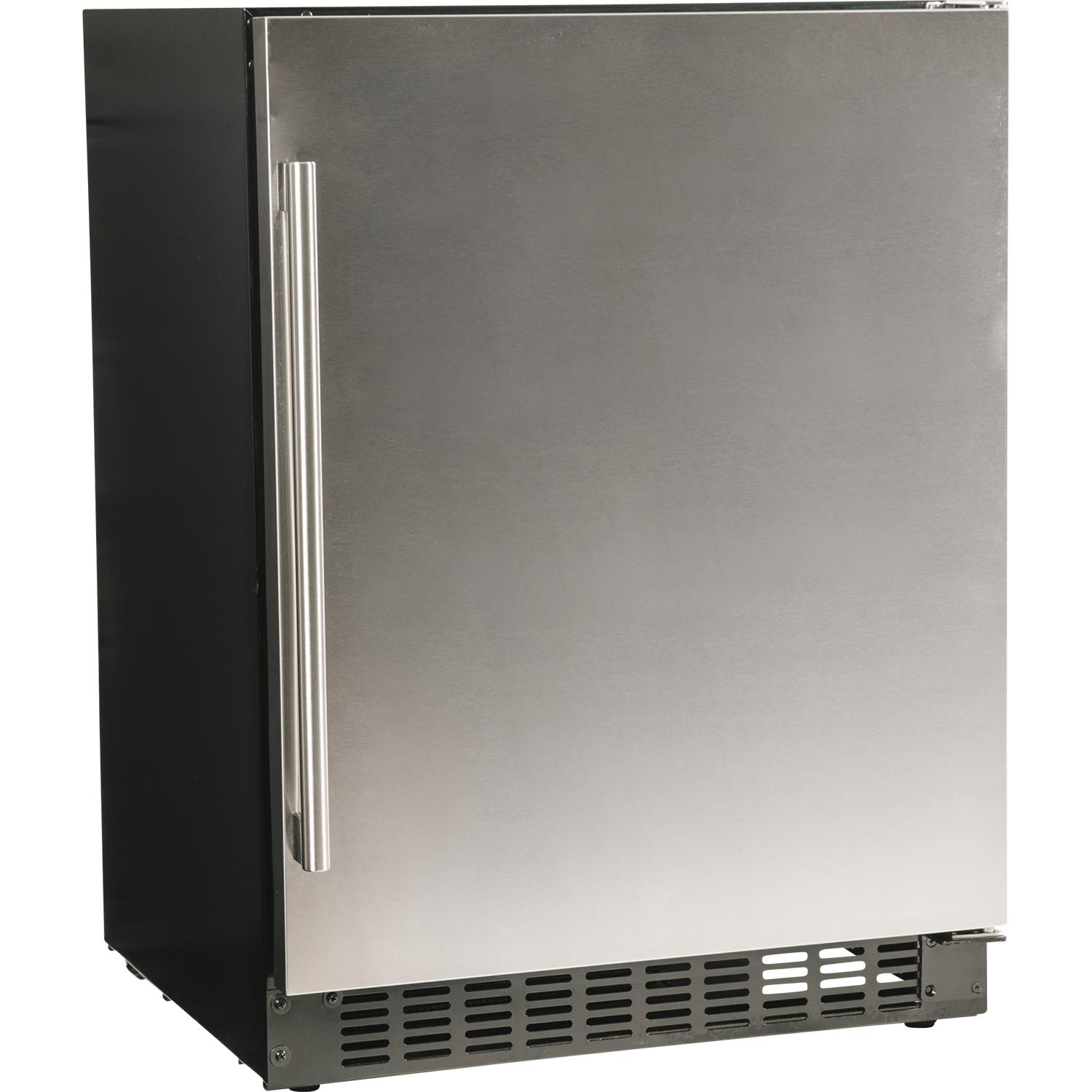 """Azure 24"""" 5.1 Cu. Ft. Compact Refrigerator - Stainless Steel - A124r-s"""