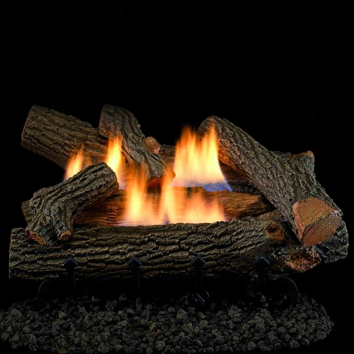 Superior Fireplaces 18 Inch Crescent Hill Gas Logs With Vent Free Propane Gas