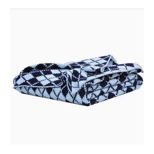 Elegant Baby Knit Baby Blanket - Blue Argyle 2762768