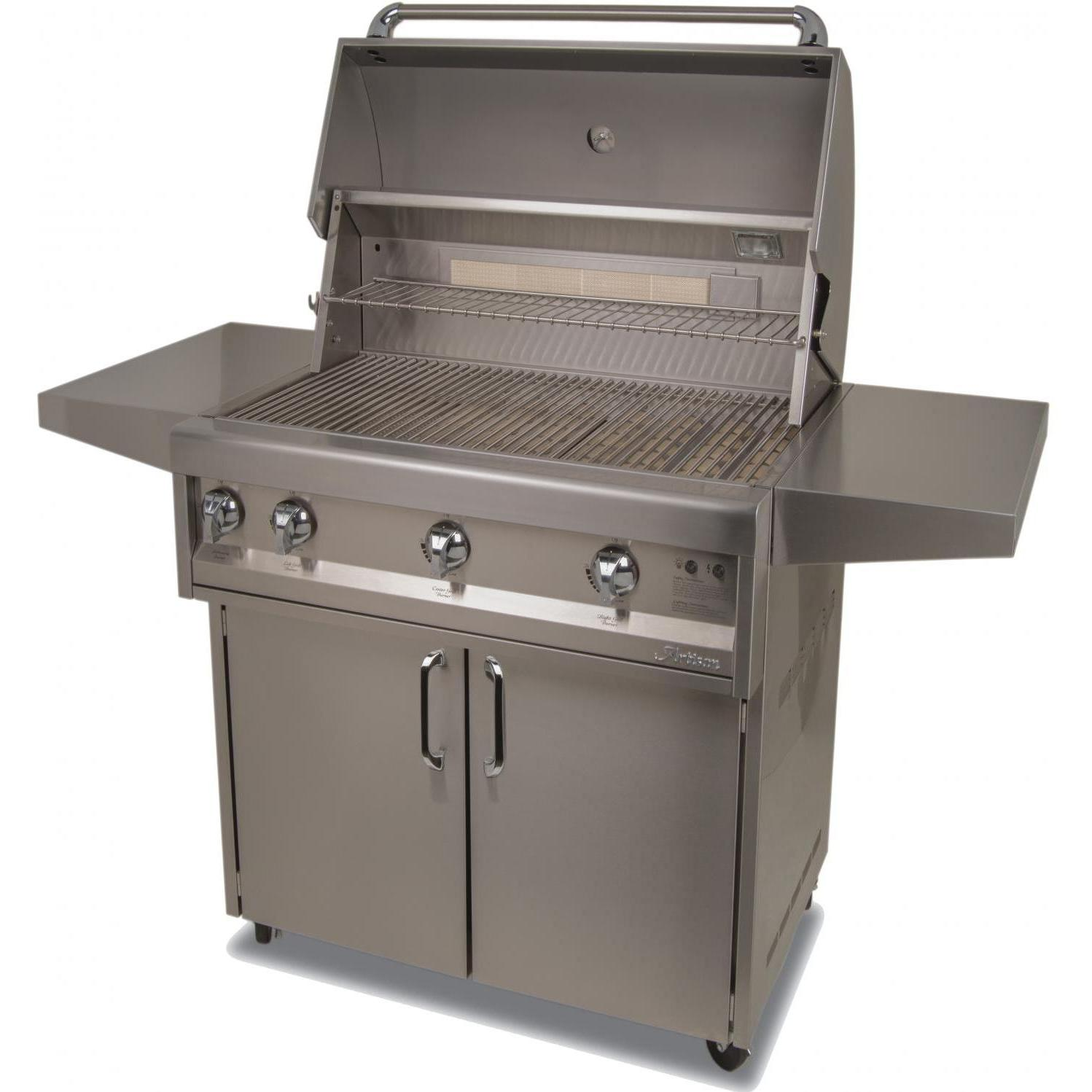 Artisan Classic By Alfresco 32-Inch Natural Gas Grill On Cart With Rotisserie 2872698