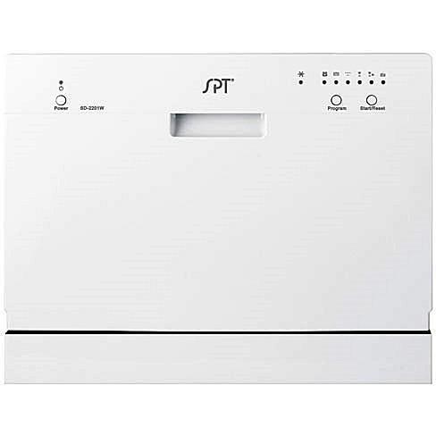 Sunpentown SD-2201W Portable Countertop Dishwasher - White