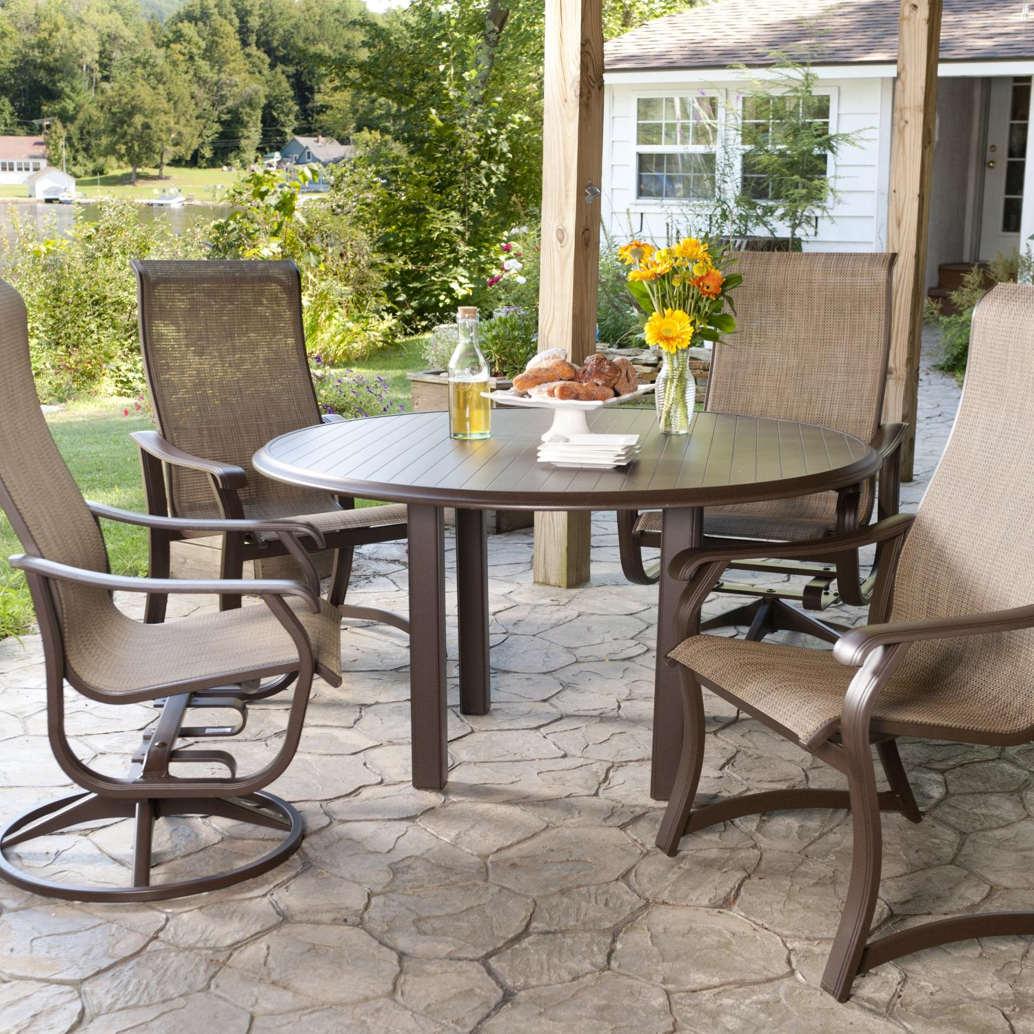 Patio dining sets sale creativity for Patio table and chairs sale