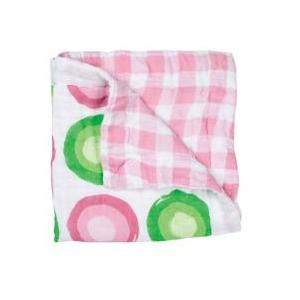 Elegant Baby Swaddle Collection Security Blanket - Pink