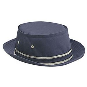 Otto Cap Cotton Twill Fisherman Hat S/M - Navy/Khaki