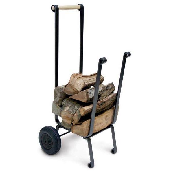 Picture of Pilgrim Big Wheel Wood Cart - Vintage Iron