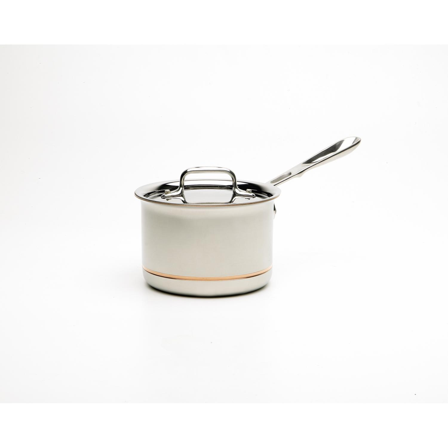 All-Clad Copper-Core 2-Quart Sauce Pan With Lid