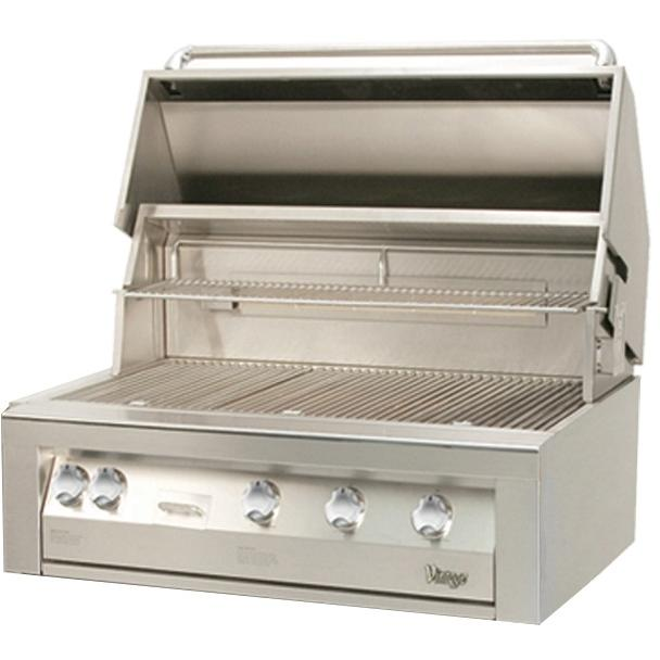 Vintage Gold Vbq42szg 42 Inch Built In Propane Gas Grill With Sear Zone at Sears.com